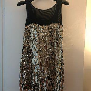 Little Black/Gold dress